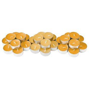 60 Pack - Scented tealight pineapple/passion fruit